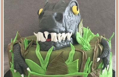 Le gâteau Dinosaure