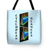 Cyclopean Glances Hermite Tote Bag for Sale by Michael Bellon