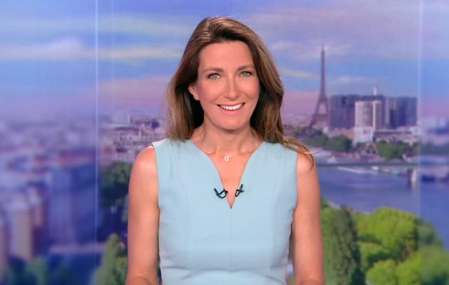 📸8 ANNE-CLAIRE COUDRAY @ACCoudray @TF1 @TF1LeJT pour LE 13H WEEK-END #vuesalatele