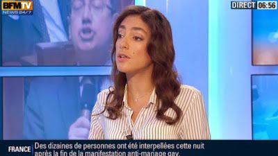 2013 04 19 - ANNA CABANA - BFM TV - PREMIERE EDITION 'POLITIQUE PREMIERE' @06H50