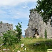 Ruines du Château de Taillefer à Gintrac dans le Lot - Les Photos de Sébastien Colpin