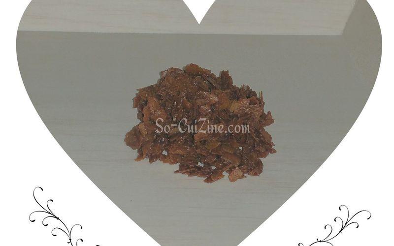 Croquant de crêpes dentelle au chocolat