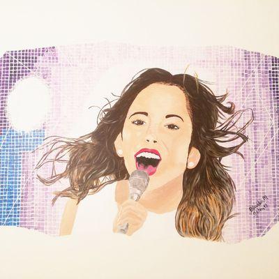Peinture Violetta