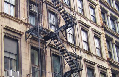 Escaliers (3) : Stairs of New York