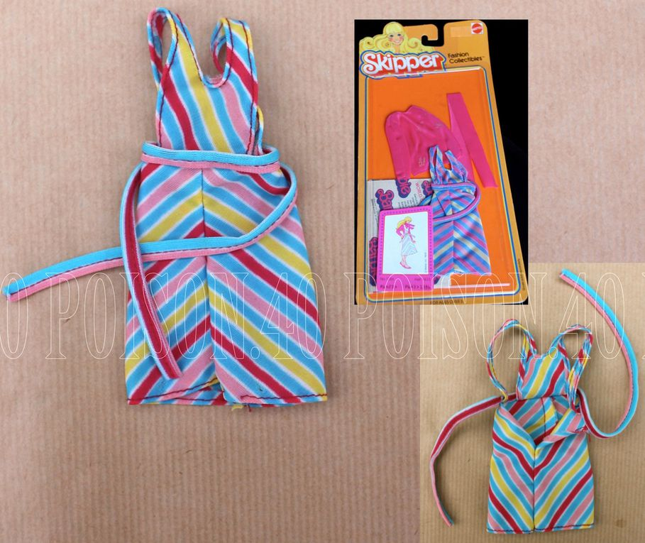 """""""FASHION COLLECTIBLES"""" FOR SKIPPER DOLL 1979 MATTEL #1386"""