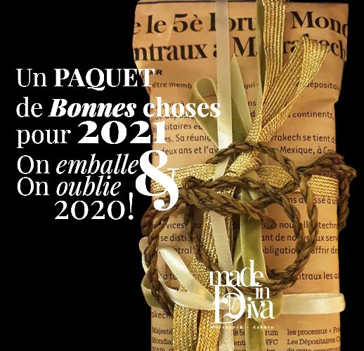 Un PAQUET de Bonnes Choses pour 2021... On EMBALLE & On OUBLIE 2020