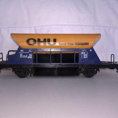 wagon tremie à essieux OHU (9 euros)