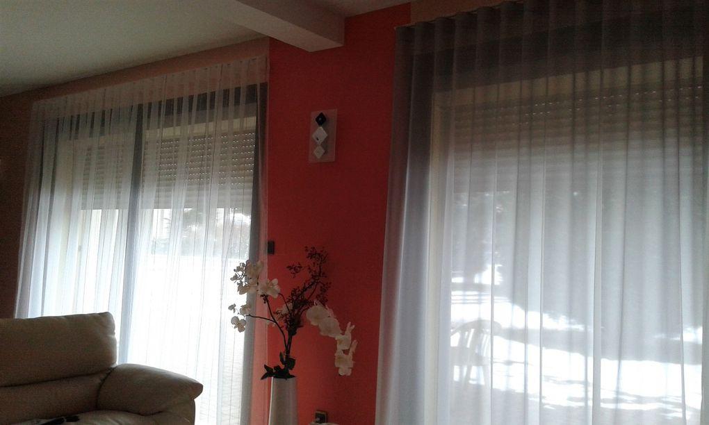 CONFECTION de rideaux arabesque thiers tapissier decorateur