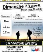 LA MARCHE SOLID'S, La Gaubretiere (Sortie pédestre du 23/4/2017 / Ref. : 46280)