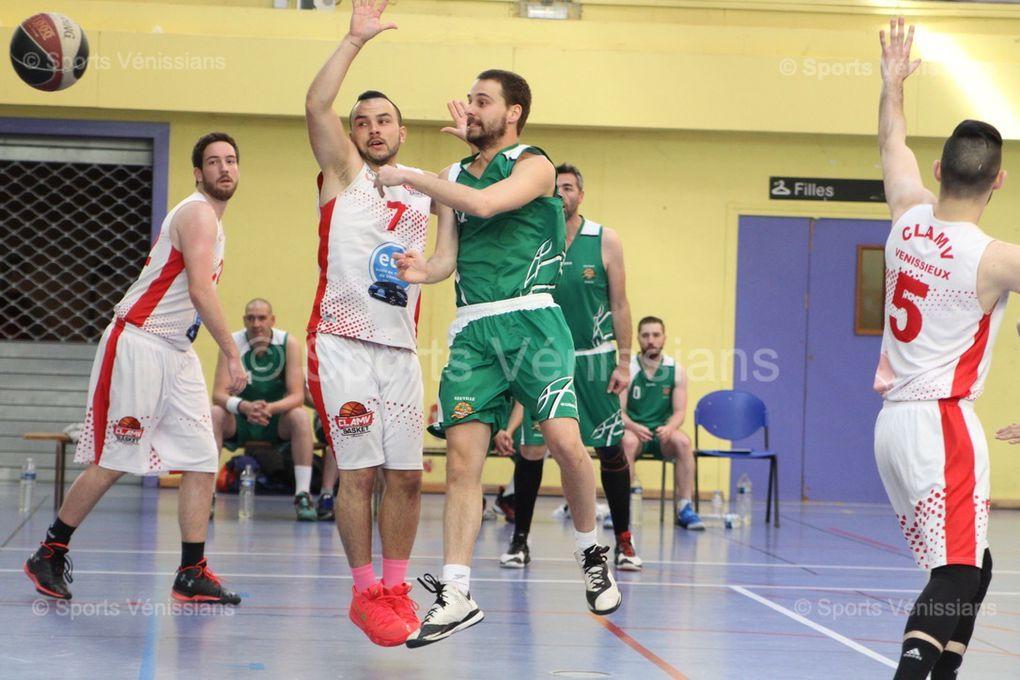 Le CLAMV Basket a manqué une belle occasion de conforter sa seconde place au classement