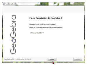 GeoGebra 5: Installation