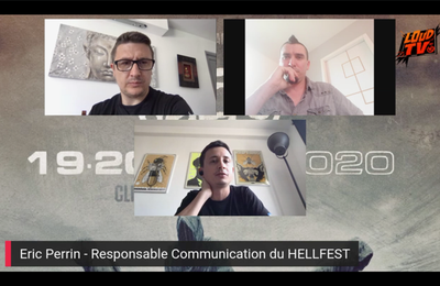 Interview Exclusive d'Eric Perrin du HELLFEST suite à l'annulation du Festival
