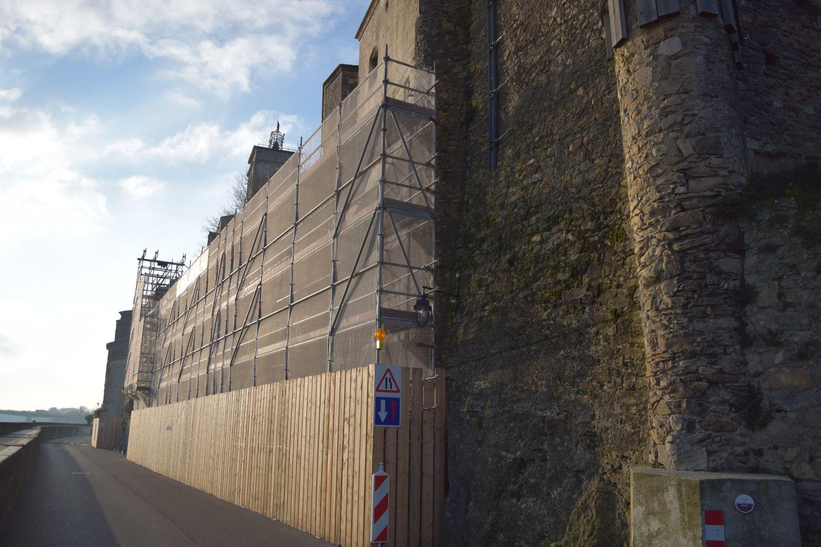 En partie bombardé en 1945 et reconstruit partiellement en béton, il souffre aujourd'hui de nombreuses pathologies telles que fissures de dilatation, calcite, végétation. Des travaux en 3 étapes sont donc prévus de l'automne 2019 à juin 2022. Ils constitueront principalement en une restauration à l'identique de l'édifice.