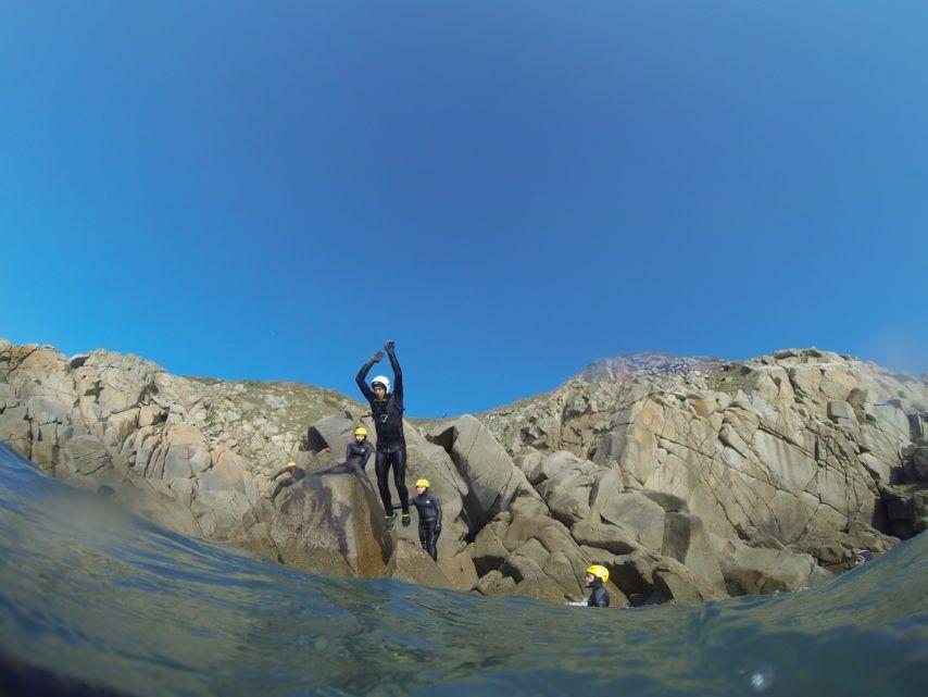 Coasteering en Cotentin