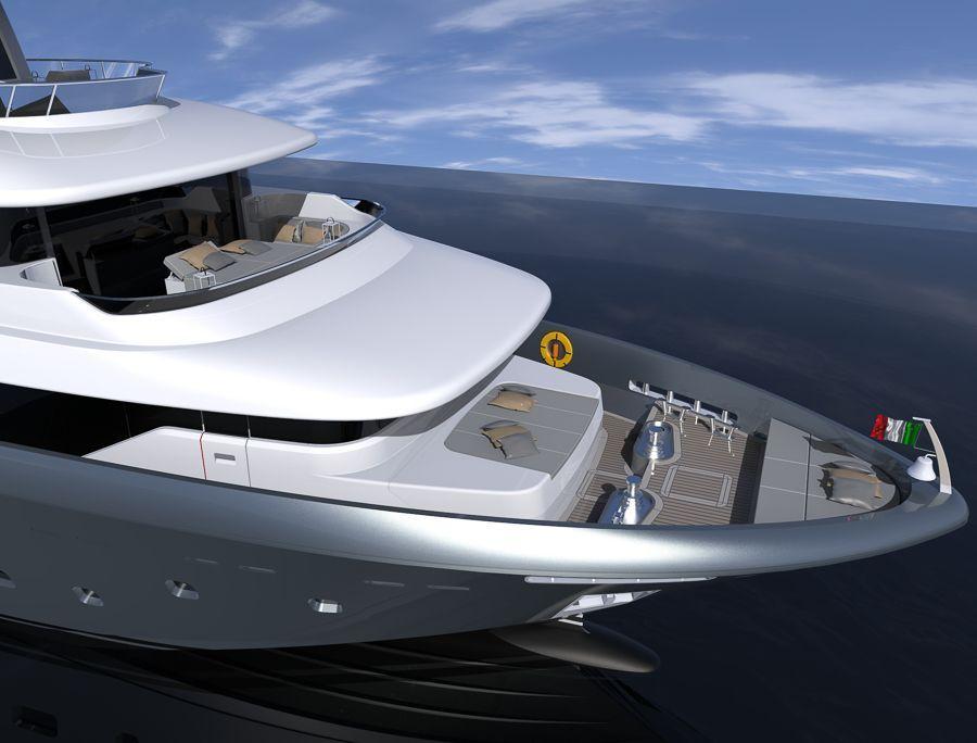 Canados - un 1er superyacht d'expédition Oceanic 140 en cours de construction