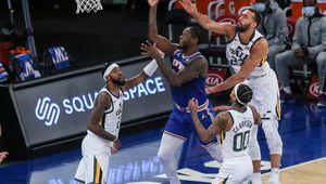 Les Knicks continuent de surprendre en battant le Jazz