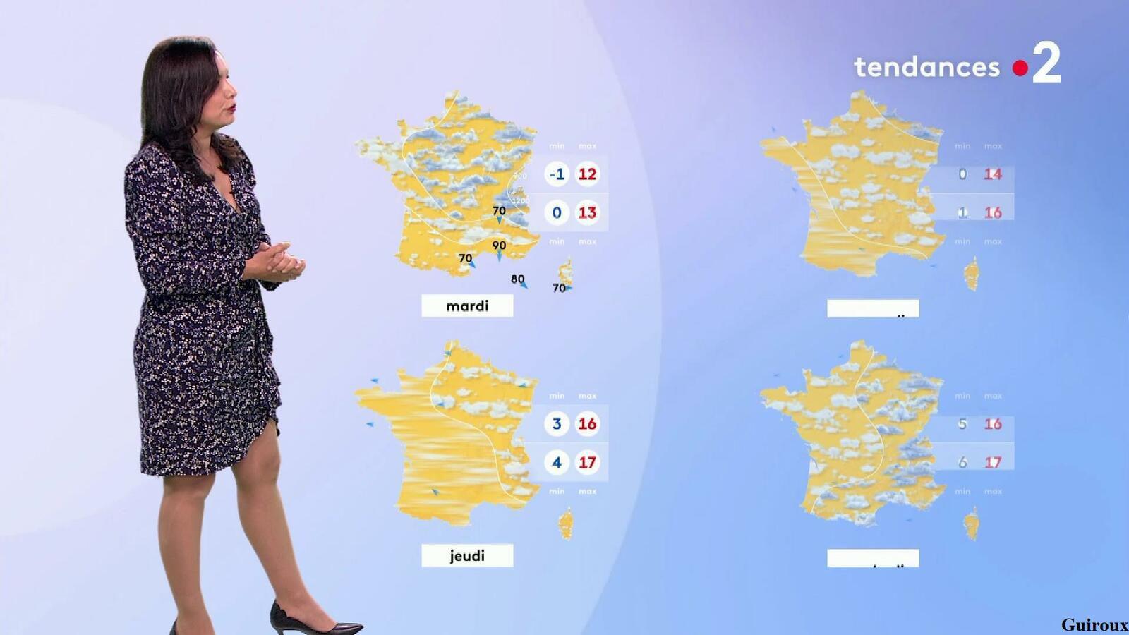Anaïs Baydemir 10/04/2021 Journaux météo du soir