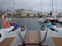 Cherbourg-Saint-Vaast : l'équipage