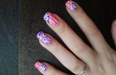 nail art fleurie