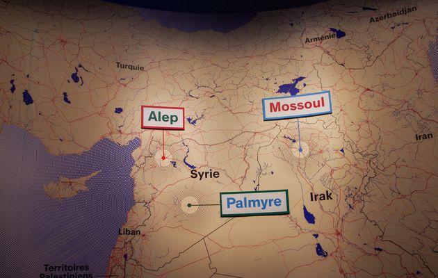 Exposition Cités millénaires Voyage virtuel de Palmyre à Mossul à découvrir à l'Institut du monde arabe jusqu'au 10 février 2019