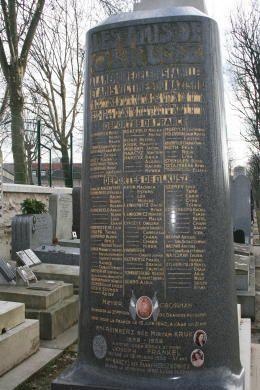 Le cimetière parisien de Bagneux.