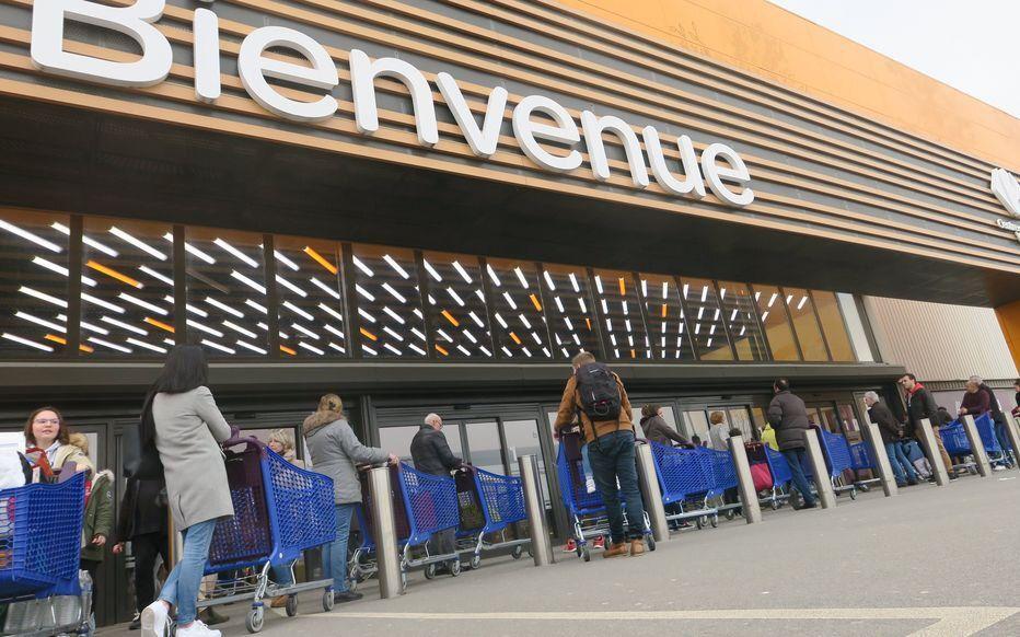 Archives. Avec une hausse de chiffre d'affaires considérable, Carrefour réalise sa meilleure performance depuis 20 ans. LP/ Elie Julien