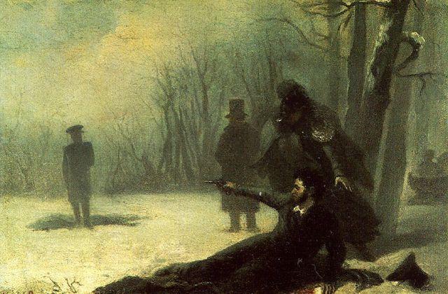 La mort du poète - «Смерть поэта» М. Лермонтов -