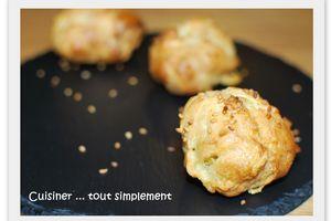 Votez pour ma recette de Gougères au Morbier
