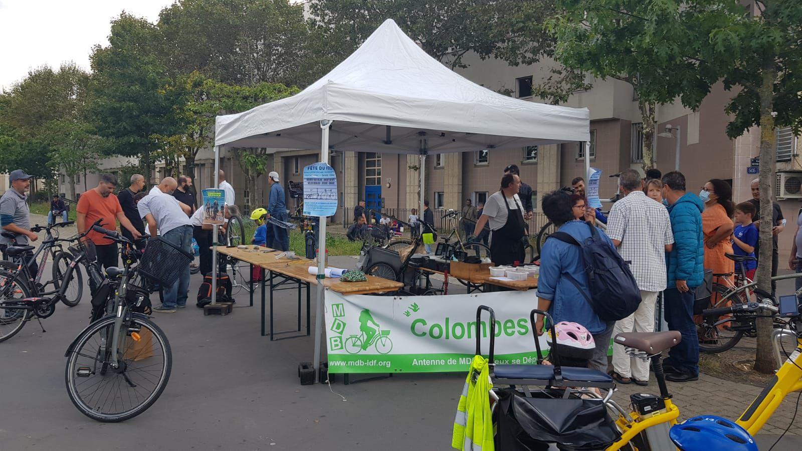 """Fête du vélo à Colombes : soirée documentaire """"YOGETHER WE CYCLE"""", atelier réparation et parcours vélotaff"""