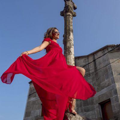Une robe rouge pour toute saison