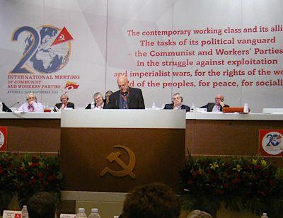 """""""La lutte des classes est le moteur de l'histoire"""" par le PCI"""