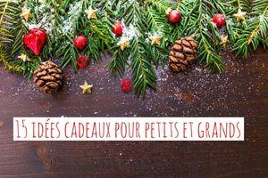 15 idées cadeaux de Noël abordables pour petits et grands