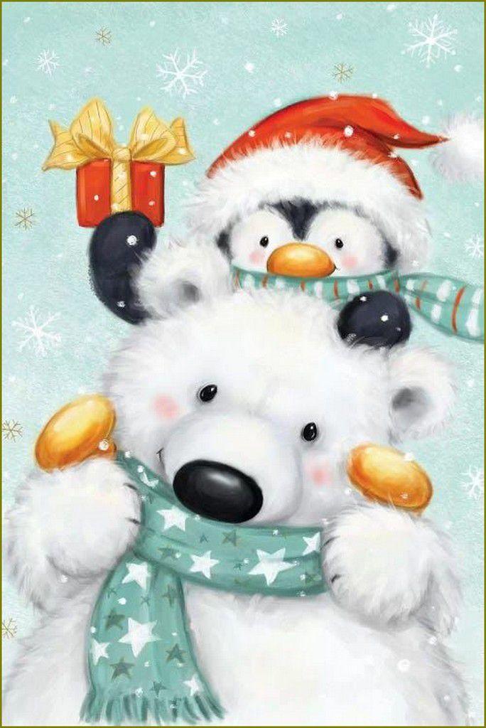 ours et oursons en peinture etillustrations - Makiko