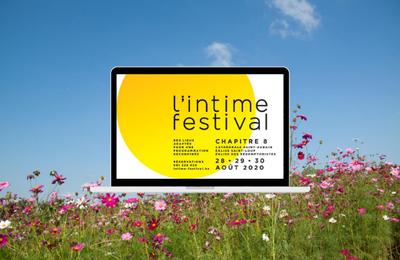 L'Intime Festival | Namur | 28 au 30 août