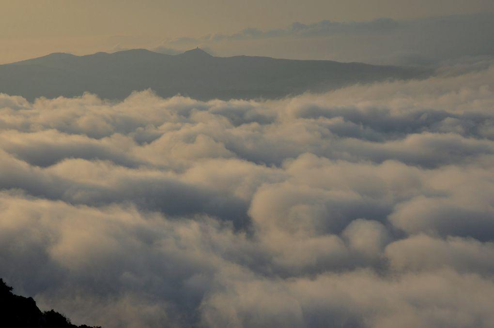 Jour de mer de nuages (5 photos)