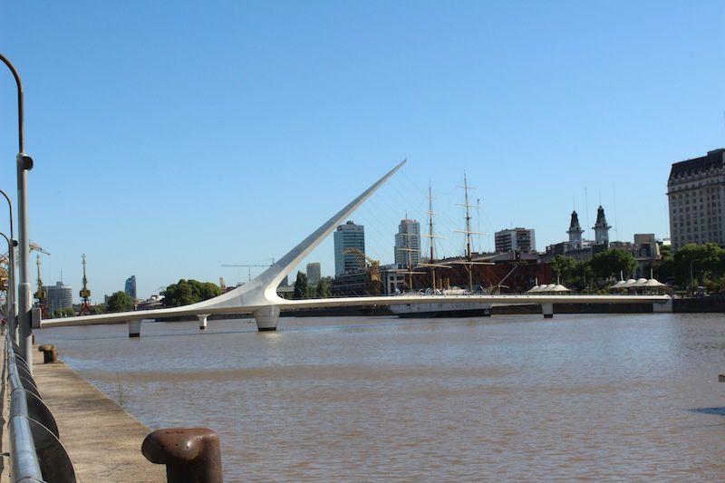 les quartiers de Bueno Aires : en rose le Palais présidentiel