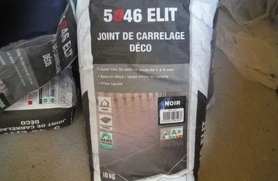 Carrelage et joints de carrelage!