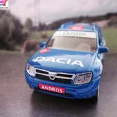 RENAULT DACIA DUSTER ANDROS CAISSE D'EPARGNE NOREV 3 INCHES - car-collector.net