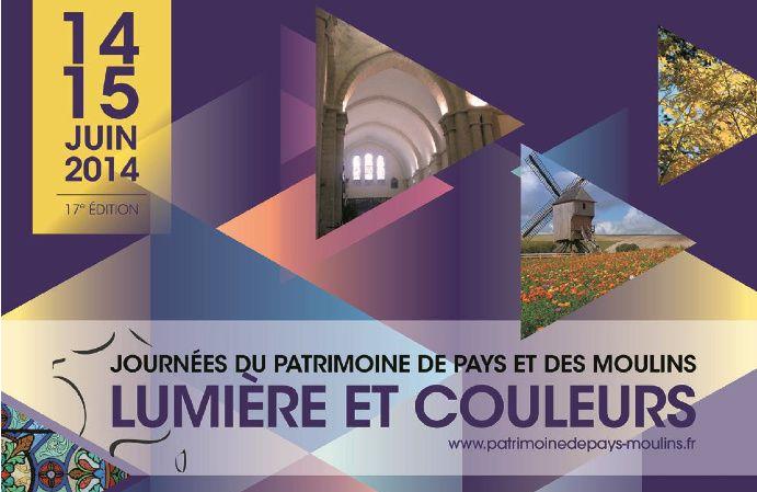 17ème édition des Journées du Patrimoine de Pays et des Moulins