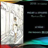 Défilé des Stylistes 2018 : Tendance en cape (9)