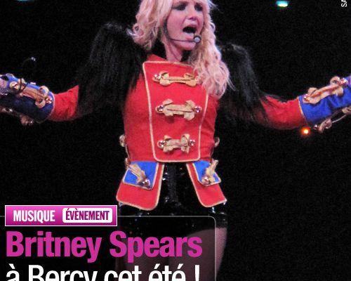 Britney Spears à Bercy cet été !