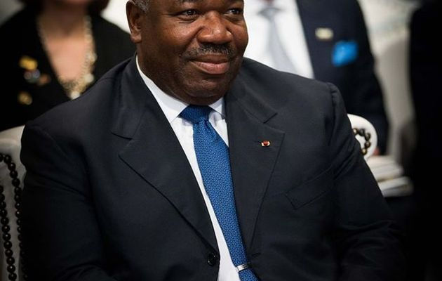 Ali Bongo Ondimba Grand Lauréat du Prix Green Ribbon Political Award 2014