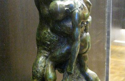 Le dénicheur d'ourson, petit bronze