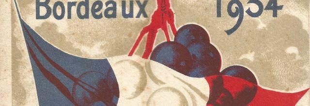 La fête du vin à Bordeaux en 1934