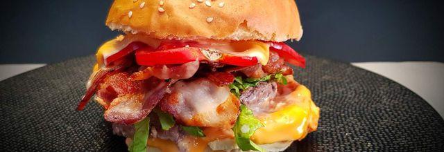 Hamburger steak et lard