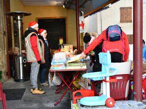 Colmars les Alpes, Marché de Noël festif et caritatif
