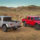 Los Angeles 2018 : Jeep Gladiator...enfin un pick-up! - FranceAuto-actu - actualité automobile régionale et internationale