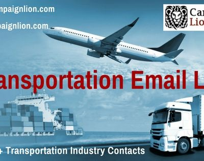 Communicate with your Target Audience by purchasing Transportation Email Database