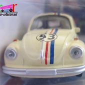 VW COX CHOUPETTE UN AMOUR DE COCCINELLE HERBIE NOREV 3 INCHES - car-collector