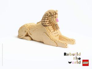 Pub de la semaine : LEGO «Rebuild The World», le monde change vraiment !